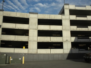 A parking structure in Provo.